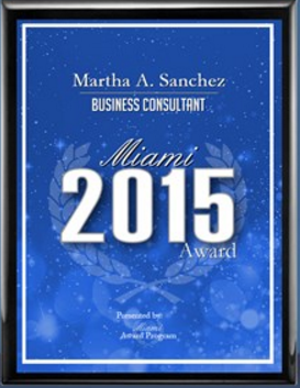 The Best Business Consultant Award
